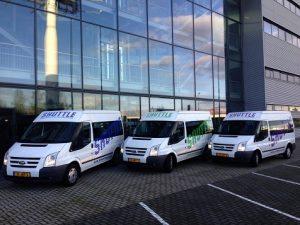 Shuttle bussen
