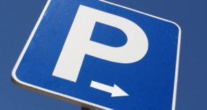 Parkeren op een parkeerplaats